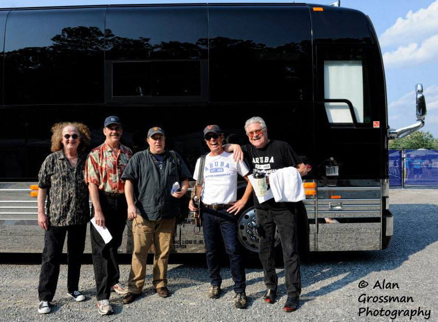 Skip Castro and the Tour Bus